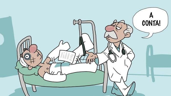 Operadoras querem pagar menos, hospitais querem cobrar mais