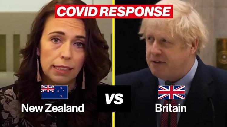 A diferença que a liderança faz – Nova Zelandia versus Outros