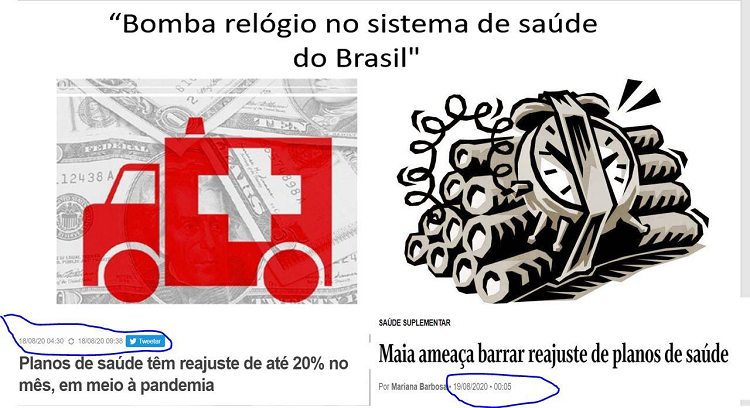 Bomba relógio no sistema de saúde do Brasil